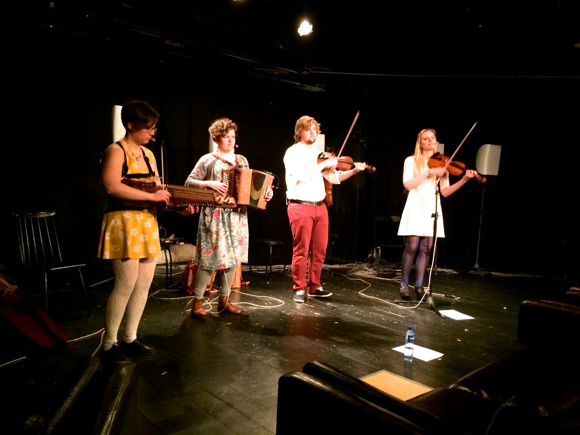 Skandinaviska folkmusikkvartetten RIM examenskonsert