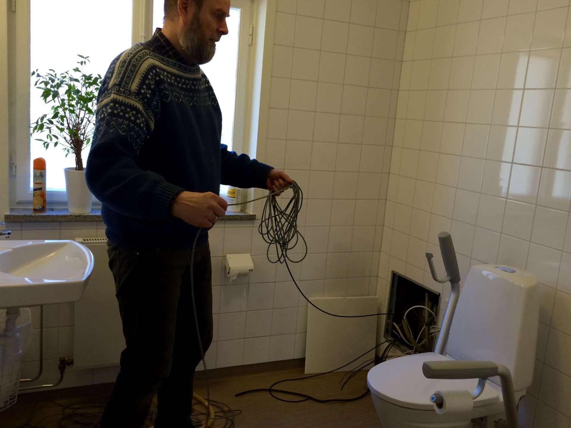 Det gäller att hitta kabelvägar som gör kabeldragningen smidig och nästan osynlig.